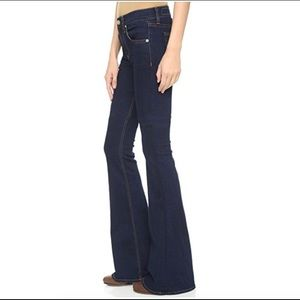 Rag & Bone Beckett 10 in Bell Bottom Flare Jeans